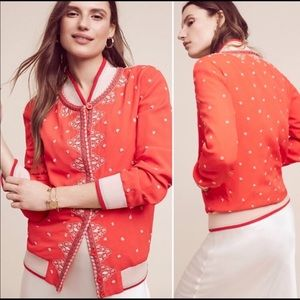 Anthropologie | Conditions Apply Arabella Bomber L